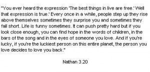 one tree hill quotes nathan quote