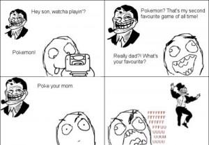 Troll Dad Comic Pokemon !