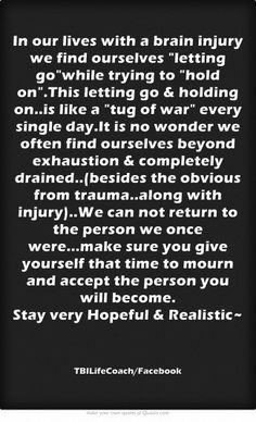 ... Quotes, Traumatic Brain Injury Quotes, Tbi Quotes Brain Injury