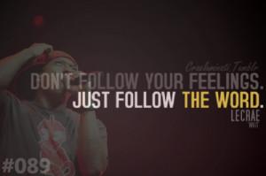 christian rap quote