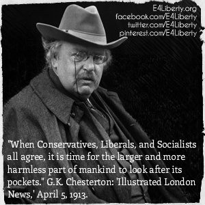 its pockets g k chesterton illustrated london news april 5 1913 quote ...