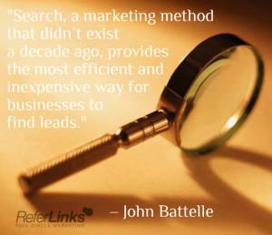 ... John Battelle #online #marketing #quote #tip #socialmedia #blog #