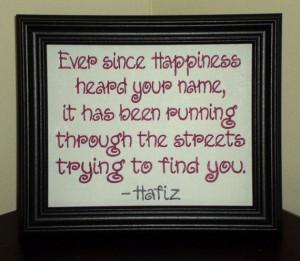 ... 30.00 #happiness #joy #quotes #quote #Hafiz #Hafez #gift