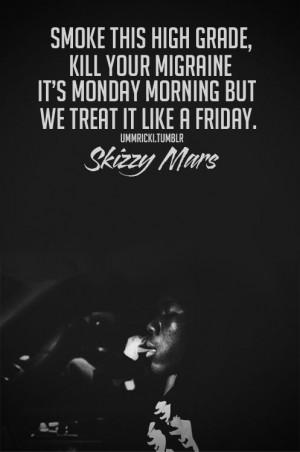 skizzy mars quote