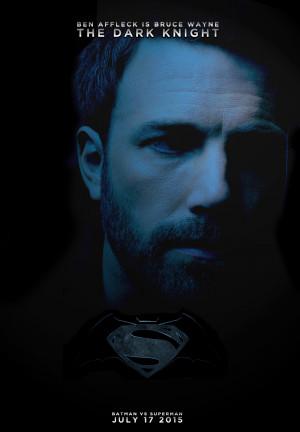 Batman Superman Ben Affleck