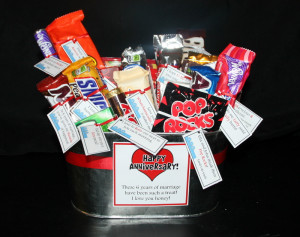 candy bar sayings for anniversary