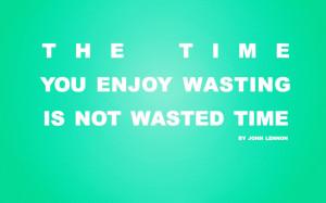 John Lennon quote wallpaper