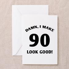 90th Birthday Humor Greeting Cards (Pk of 20)