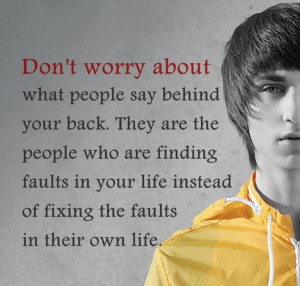 "... Life Instead Of Fixing The Faults In Their Own Life "" ~ Sports Quote"