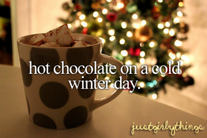holiday, hot chocolate, pooh, quote, quotes, winter