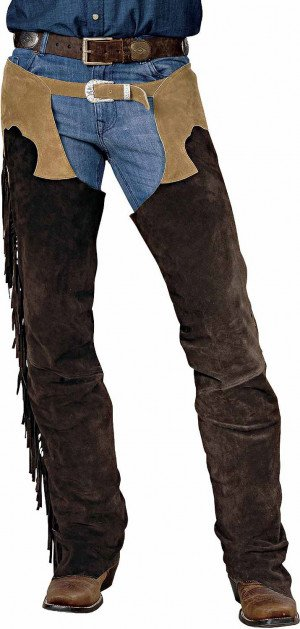 Men 39 s Western Leather Chaps
