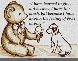 Learn to give love quotes
