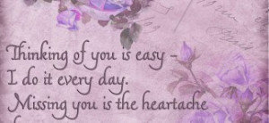 Romantic Missing You Quotes For Him: Love Quotes On Beautiful Floral ...