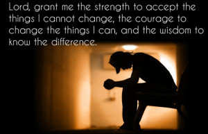 the things i cannot change the courage to change the things i can and ...