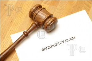 Picture of Bankruptcy forms and a gavel to represent this monetary ...