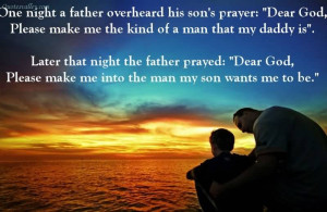 It Is Not Flesh And Blood, But The Heart Which Makes Us Fathers And ...