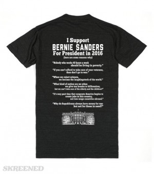 bernie-sanders-quotes.american-apparel-unisex-athletic-tee.athletic ...