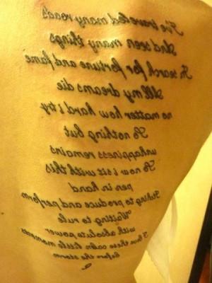 Tech N9ne Pledge Tattoo Sarah tattoo