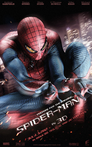 that the title of the film Spider-man amazing next in Spider-man ...