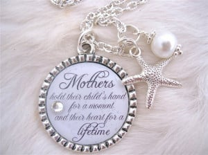 MOTHER of the BRIDE Gift Mother of the Groom Inspirational quote ...