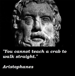 Aristophanes quotes 4
