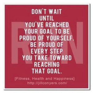 September 13th...Sticking to your goals, scotch tape can help!