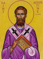 Saint Augustine, early Church father and Doctor of the Church