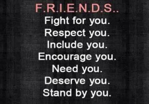 what friends stand for
