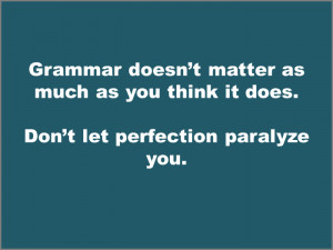 quote about grammar for English learners
