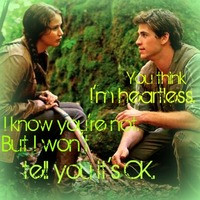 The Hunger Games Gale & Katniss Quote