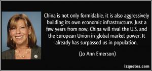 More Jo Ann Emerson Quotes