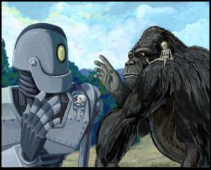 Mash-Up: Iron Giant / King Kong