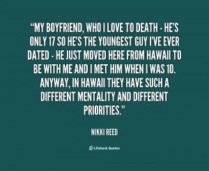 Love My Boyfriend Quotes