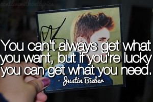 Image of justin bieber inspirational quotes
