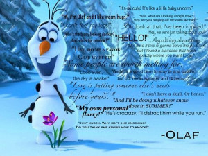 Olaf quotes!