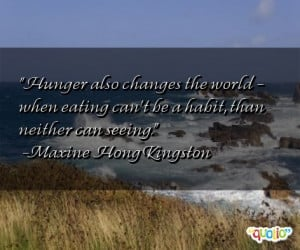 ... hungry quotes and sayings http://www.famousquotesabout.com/on/Hunger
