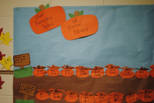 Plural Noun Pumpkin Patch- Find the rest of this beautiful poster here ...