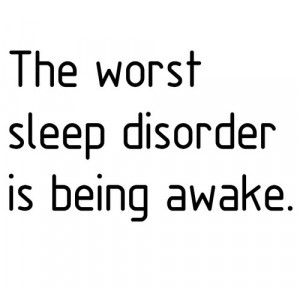 the worst sleep disorder
