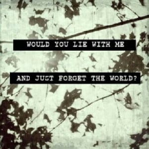 chasing cars, cute, love, quote, snow patrol