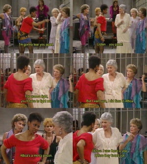 The Golden Girls. I love this show!!!!