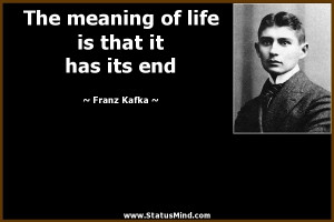 Franz Kafka Quotes About Life
