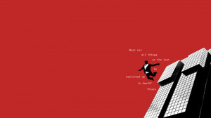 red quotes plato 1920x1080 wallpaper Color Red HD
