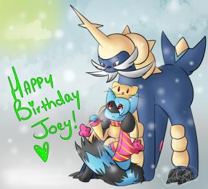 Happy Birthday Joey Hokeypokey