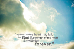 ... christian #God #God is my strength #life #typography #picture quotes