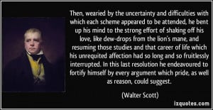 More Walter Scott Quotes