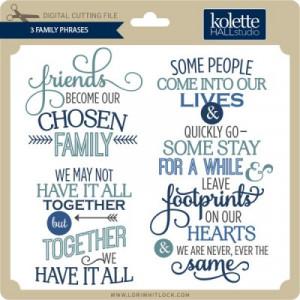 Family Phrases