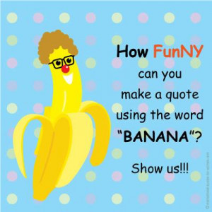 fun banana quotes jpg yellow banana picture clipeart photo 18185 ...