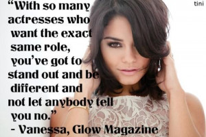 Vanessa hudgens quotes sayings actress role