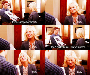... tagged as parks and recreation season four 401 i m leslie knope amy
