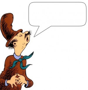 Clip art of many different characters from Dr. Seuss that you can put ...